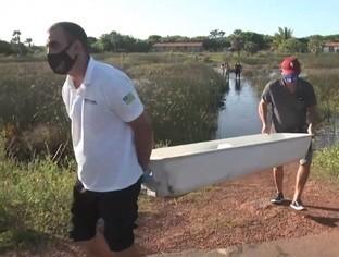 Criança de 8 anos morre afogada em lagoa no litoral piauiense