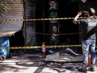 Incêndio destrói boxes no Shopping da Cidade e lojistas lamentam