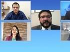 Rafael Fonteles responde perguntas dos integrantes do Jogo do Poder