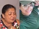 """""""Ela deitou por cima do filho"""", afirma mãe de jovem morta por bandidos"""