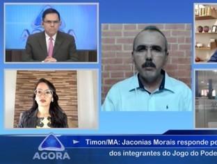 Jaconias Moraes, pré-candidato em Timon participa do Jogo do Poder