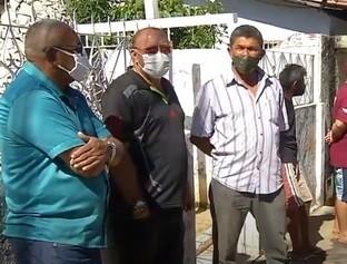 Velório do capitão da PM morto em assalto é marcado por dor e comoção