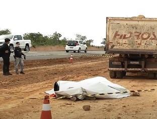 Funcionário morre esmagado por caminhão de construtora
