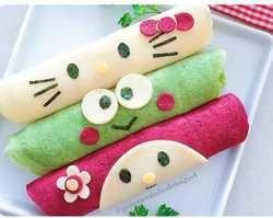 Como fazer panquecas coloridas para o dia das crianças