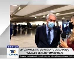 Senador Otto Alencar fala sobre depoimento de Pazuello na CPI da Covid
