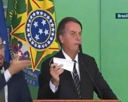 Declarações de Bolsonaro sobre uso da máscara gera polêmica no país